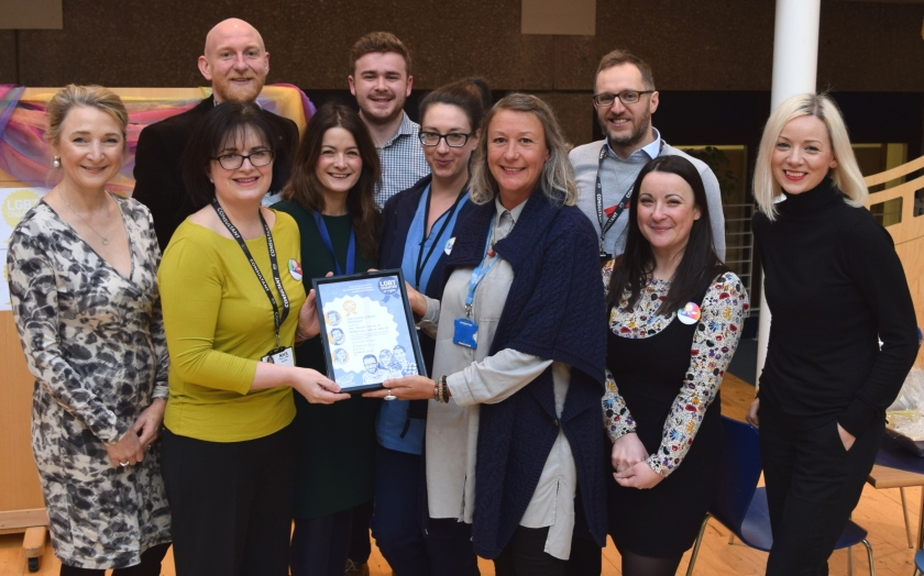 MAIN Sexual and Reproductive Health Service awarded LGBT Gold Charter Mark