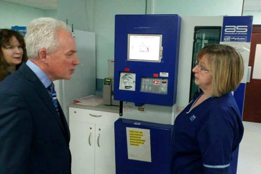 MAIN New Chief Executive visits Stracathro (2)