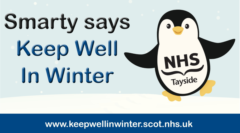 MAIN Smarty the penguin launches NHS Tayside's winter campaign (1).png