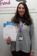 MAIN Saltire Awards presented to young NHS Tayside volunteers - Mariana Khoury