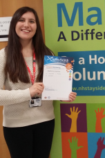 MAIN Saltire Awards presented to young NHS Tayside volunteers - Stephanie Cartner