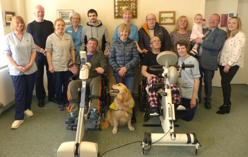 04-04-19 Specialist bike donated to Brain Injury Rehabilitation Unit