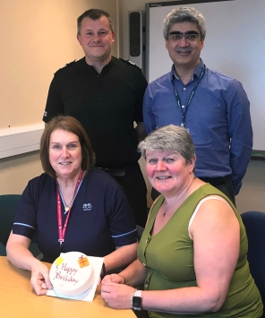 11-04-19 Marking 10 years of the Tayside Custody Healthcare & Forensic Medical Service