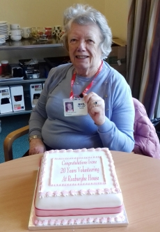 MAIN Irene celebrates 20 years of volunteering (1)