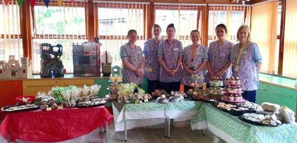 MAIN Tayside Children's Hospital Easter bake sale
