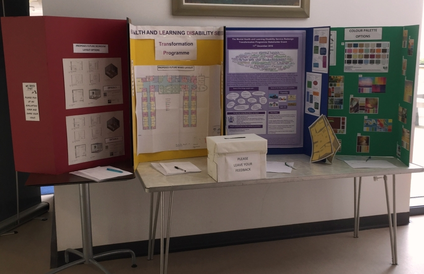 SHaring stations set up at Carseview and Murray Royal hospital