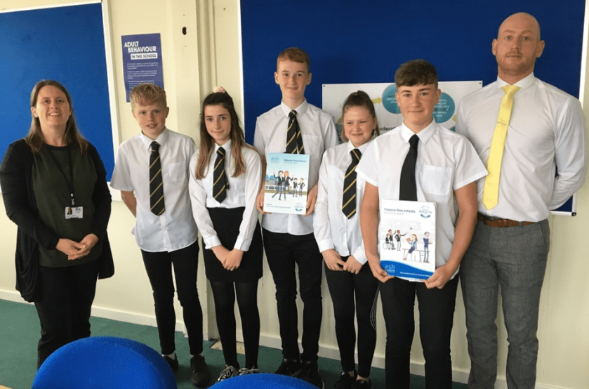 MAIN Tayside schools supporting a tobacco-free future - Arbroath Academy