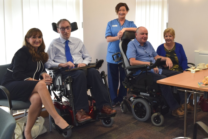 MND patients and carers