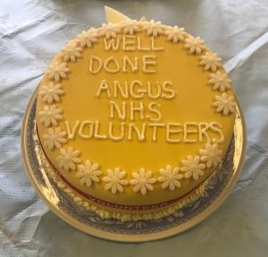 MAIN Celebrating volunteering in Angus - Whitehills event cake