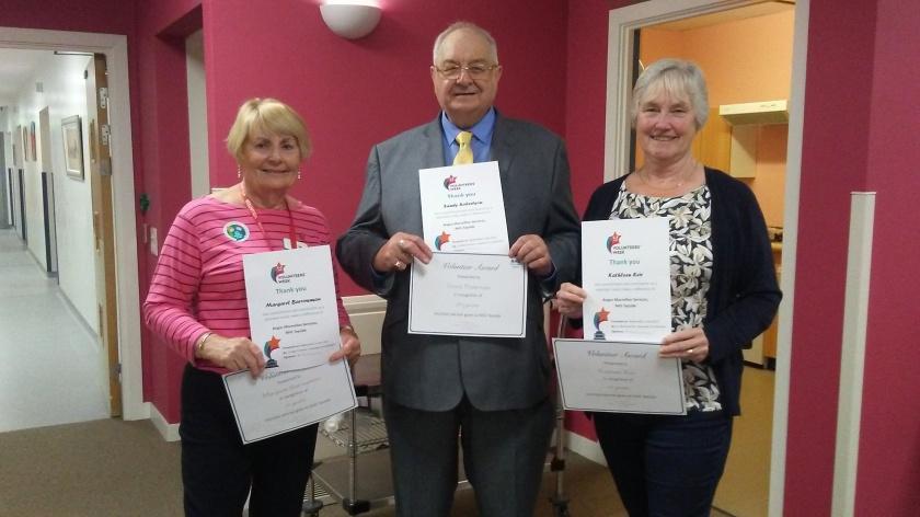 MAIN Celebrating volunteering in Angus - Whitehills Macmillan