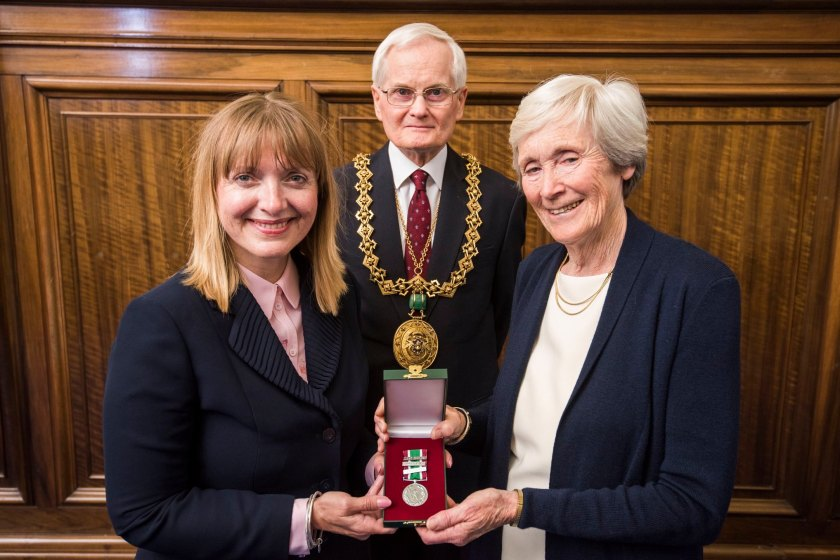MAIN Tayside volunteer honoured by Lord Provost (1)