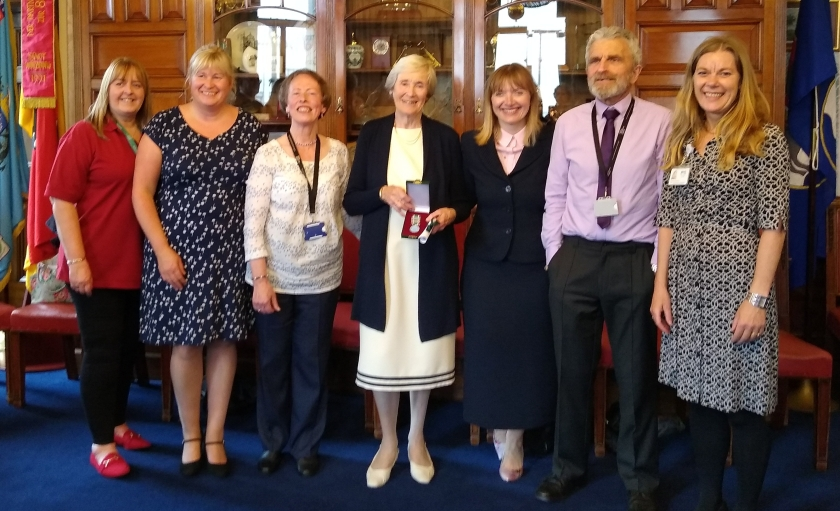 MAIN Tayside volunteer honoured by Lord Provost (2)